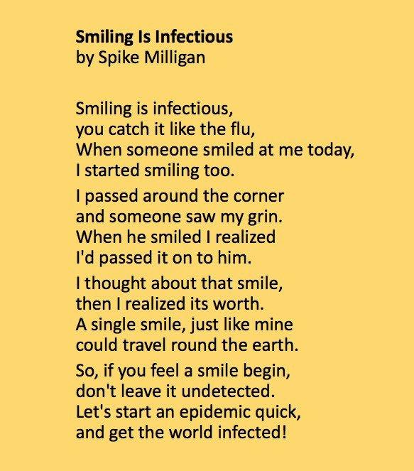 Spike Milligan's poem
